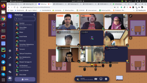 RoboCup2021 Virtual Venue